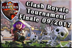 CR Tournament Finale 09/2017
