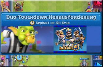 Duo Touchdown Herausforderung